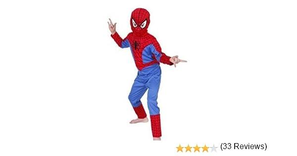 06be6a5888a888 Rubie s-déguisement officiel - Spiderman - Déguisement Costume Classique  Spiderman + Cagoule - Taille L- I-881306L  Amazon.fr  Jeux et Jouets