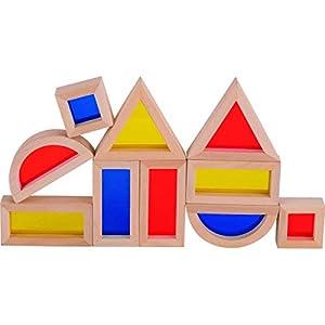 Goki- Puzzles 3D Caja de Construccion con Ventanas, Multicolor (58493)