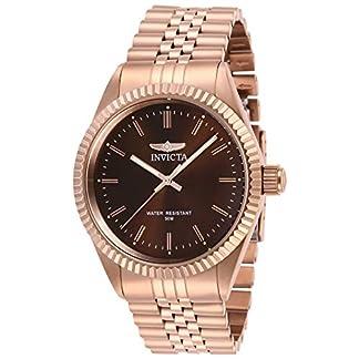 Invicta 29393 Specialty Reloj para Hombre acero inoxidable Cuarzo Esfera marrón