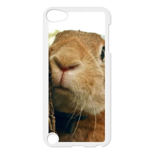 TOPDIY Custom Cheap Phone Case for Ipod Touch 5 with Bunny Complex