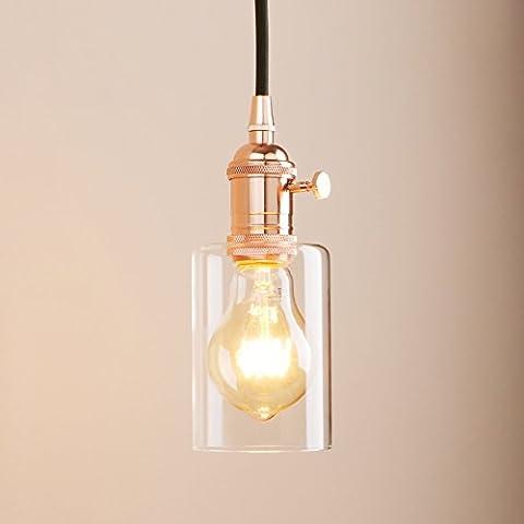 Pathson Industrial Vintage Modern Edison Hanging Ceiling Pendant Light Loft