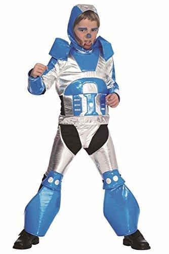 Roboter Kostüm Maschine R2-D2 für Kinder Gr. 128