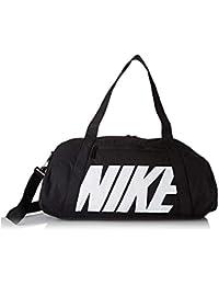 d4c4a53f8 Nike W Nk Gym Club Bolsa de Gimnasio para Mujer, Negro (Blanco/Negro