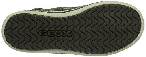 Jr Jungen Hohe dk Beigec5005 Elvis Geox Braun Sneakers Aqzxwfgw