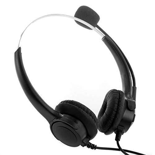 Moushen 4-Pin Call Center Schnurgebundenes Telefon Headset Hochwertige Kopfhörer mit Mikrofon