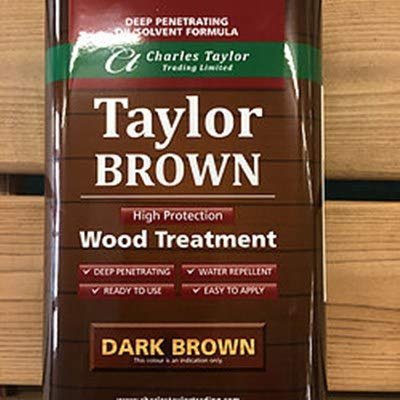 Charles Taylor Trading 1 litre Wood Preservative for Hand Made Wooden Garden Furniture