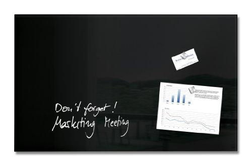 sigel-gl130-glas-magnetboard-magnettafel-artverum-schwarz-78-x-48-cm-weitere-gren-farben