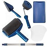 Alliebe pintar facil Paint Runner Pro rodillo cepillo pintura manija herramienta Edger sala de la pared pintura para el hogar de la habitación jardín de la sala de pintura