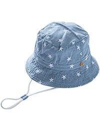 EOZY Chapeau de Soleil Plage Anti-UV Solaire pour Bébé/Enfant Outdoor Coton