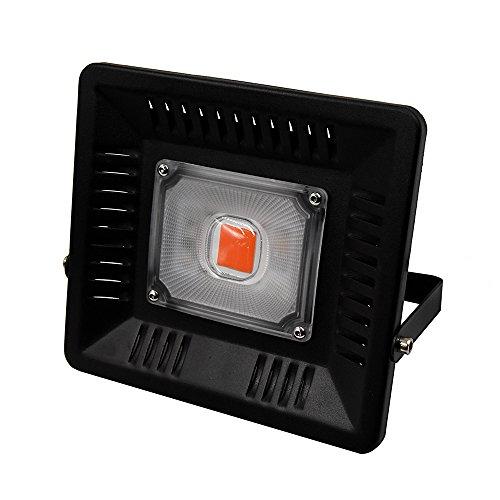 Lustaled Pflanzenlampe LED 50W IP65 COB LEDs Zimmerpflanzen 160° Abstrahlwinkel Wachstumslampe...