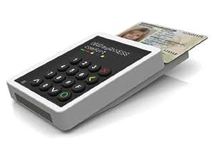OBID myAXXESS standard - Tischleser für den neuen Personalausweis (nPA), Geldkarte, girogo, NFC und kontaktlose RFID Chipkarten
