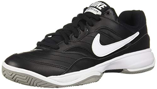 Nike Court Lite, Scarpe da Tennis Uomo, Nero (Black/White/Medium Grey 010), 40 EU
