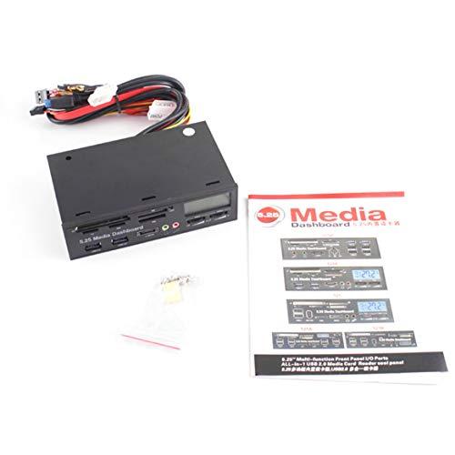 Portable-All-in-1-Media-Dashboard-525-pollici-CD-ROM-Pannello-multifunzionale-525F20-Lettore-di-schede-Lettore-di-schede-di-memoria-flash-USB