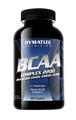 Dymatize Nutrition BCAA Complex 2200 400 Caplets - 41srU OFIqL