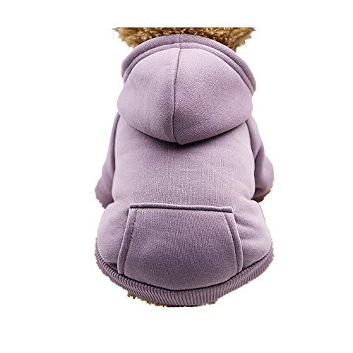 ver Warm Hoodied Sweatshirts mit Taschenhunde-Kleidung ()
