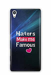 YuBingo Haters Make Me Famous Designer Mobile Case Back Cover for Sony Xperia Z5 Premium