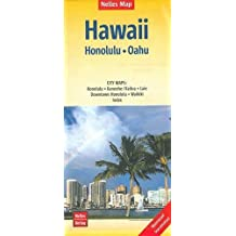 Nelles Map Landkarte Hawaii : Honolulu, Oahu: 1:150.000   reiß- und wasserfest; waterproof and tear-resistant; indéchirable et imperméable; irrompible & impermeable