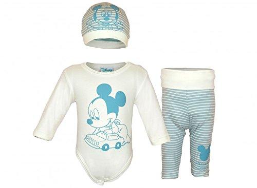 Disney - Mickey Mouse Jungen BABY-SET 3-teilig aus -