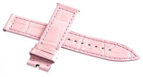 Franck Muller Geneve Pink Leder Uhrenarmband 16mm