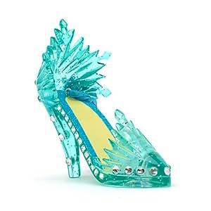 Mini chaussure décorative Elsa de la Reine des Neiges Disney