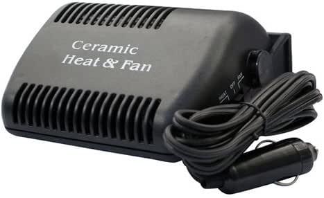 12v 12 Volt Ceramic Car Van Fan Heater
