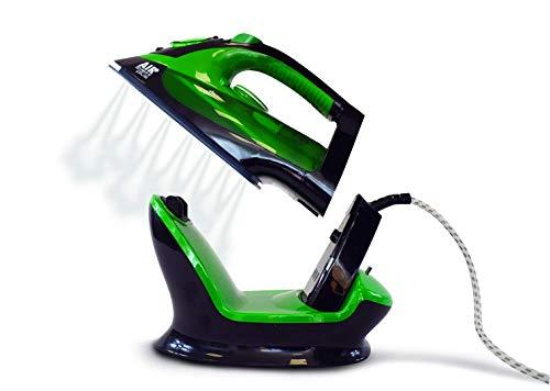 XSQUO Useful Tech Plancha DE Vapor 2 EN 1 INALAMBRICA O con Cable 2.200W Suela CERÁMICA. Vapor Vertical...