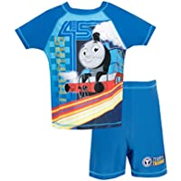 Thomas y Sus Amigos - Bañador de Dos Piezas para Niño - Thomas The Tank