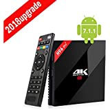 Android Caja DE TV, H96 Pro Plus Android 7.1 TV Box con Amlogic 912 DDR3 3GB 32GB BT4.1 2.4 / 5GHz Dual Band WiFi 4K Reproducción de TV BOX