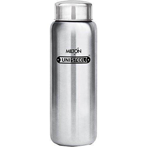 Milton Aqua-750 Stainless Steel Water Bottle, 750 ml, Silver