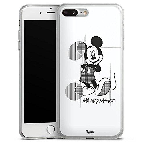 Apple iPhone 8 Plus Slim Case Silikon Hülle Schutzhülle Disney Mickey Mouse Fanartikel Geschenk Silikon Slim Case transparent