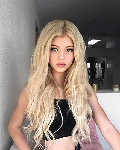 YoungSee 40 cm 100% Remy Echthaar Topper Clip in Extensions Platinblond 5