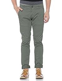 Tinted Men's Cotton Lycra Chinos Trouser Pant