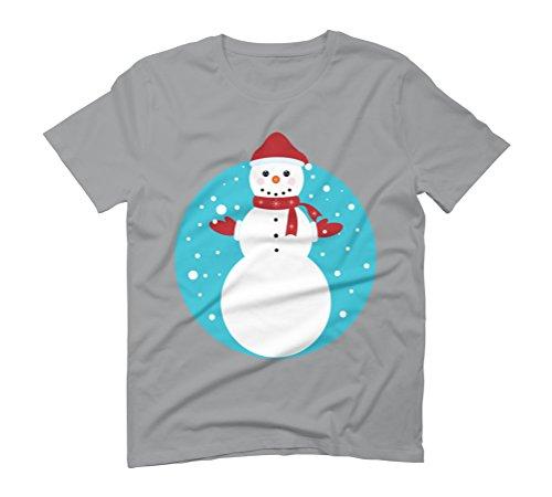 Snowman Men's Graphic T-Shirt - Design By Humans Opal