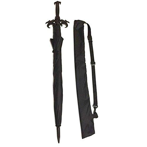 JAYLONG Sombrilla viaje 8 costillas Espada caballero