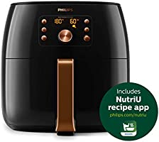 Philips HD9860/91 Premium Collection Air Fryer, with Smart Sensing Technology for Healthy Cooking, Baking and Grilling,...