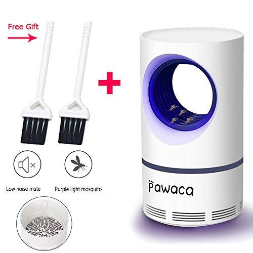 Pawaca 2019 Neuestes Insektenvernichter, USB Insektenlampe, Photokatalysator-Moskito-Mörder, Moskito-Falle Für Schlafzimmer Büro Innen - Ungiftig, Keine Strahlung