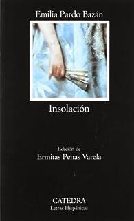 Insolación par Emilia Pardo Bazán