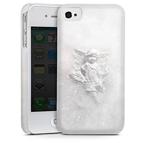 Apple iPhone 5s Housse Étui Protection Coque Ange gardien Canne Ange Cas Premium mat