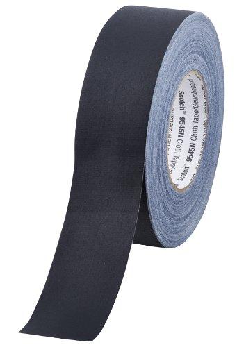 Scotch 9545N B50 Gewebeband, 1 Rolle 50 mm x 50 m, schwarz