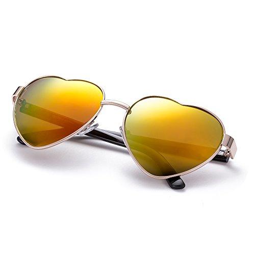 nykkola-lunettes-de-soleil-polarisees-en-forme-de-coeur-monture-en-metal-avec-etui-dore