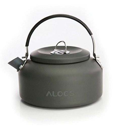 Au?enkaffeekanne mit einem Teesieb Camping Wasserkocher Teekocher Picnick Teekanne 1.4L 210g