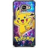 Coque pour Samsung Galaxy A5 2017 (A520) Pokemon go Team Pokedex Pikachu Manga Tortank Game Boy Color Salameche Noctali Valor