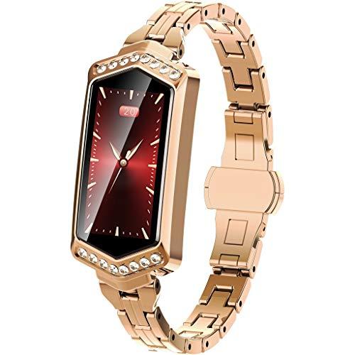 OPAKY Frauen Blutdruck Herzfrequenz Sport Smart Watch Armband für Damen