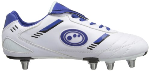Optimum Tribal, Herren Rugbyschuhe Weiß (White/Blue)