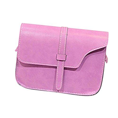 Handtasche Umhängetaschen für damen,YULAND Mode Damen Mädchen Schultertasche Kunstleder Satchel Crossbody Tote Handtasche (D) (D-leder-satchel Werden &)