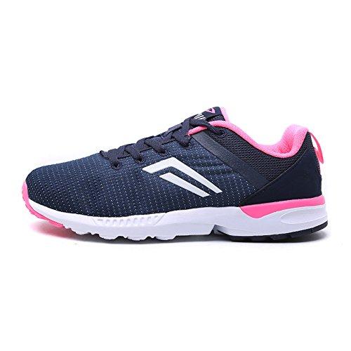 Nike WMNS Air Max 90 Essential, Chaussures de Running Femme, Multicolore (BL Gry/Pr Pltnm-Lyl BL-Smmt Wh), 38 EU