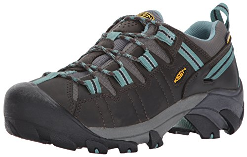 keen-targhee-ii-wp-zapatos-de-low-rise-senderismo-para-mujer-verde-black-olive-mineral-blue-40-eu