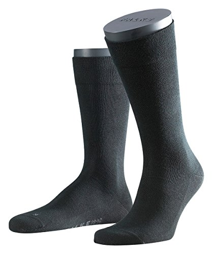 falke sensitive 3 Paar Falke Herren Socken 14616 Sensitiv London SO, Farbe:Black 3000;Socken & Strümpfe:43-46