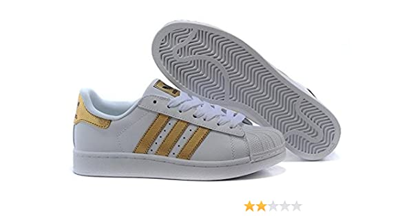 Superstar Men s White Gold Mesh Casual Shoes -7.5  Buy Online at Low Prices  in India - Amazon.in 951f177769e0