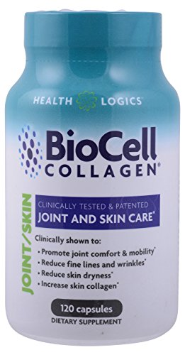 Collagen Skin Care (Health Logics BioCell Collagen Joint and Skin Care 120 Capsules)